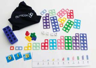 Numicon Maths Bag