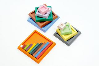 Cuisenaire Number Rod Trays 1-10 and 20