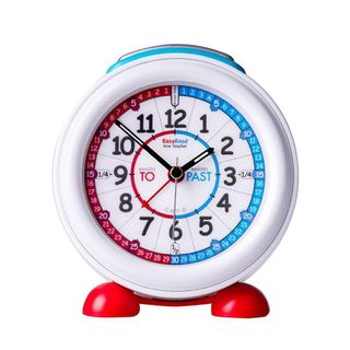 Alarm Clock with Red/Blue Face