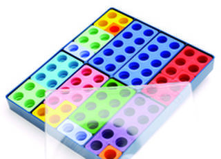 Box of 80 Numicon Shapes - Coloured (10)