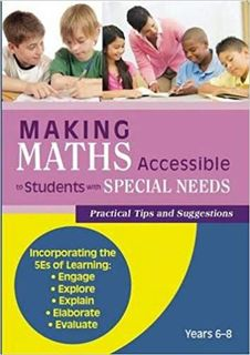 Making Maths Accessible to Students with Special Needs - Years 6 to 8