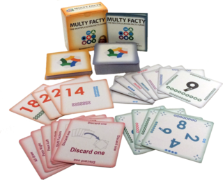 Multy Facty - The Multiplication Facts Card Game