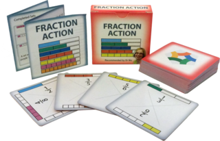Fraction Action Card Game