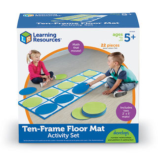 Ten-Frame Floor Mat Set Activity Set