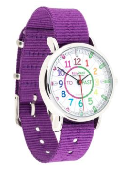 Watch - Past/To Rainbow Face - Purple Strap