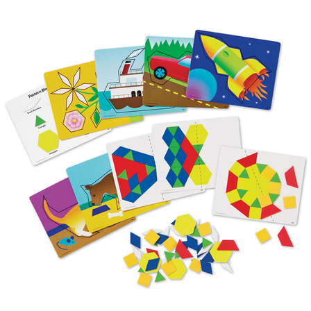 Magnetic Pattern Block Activity Set