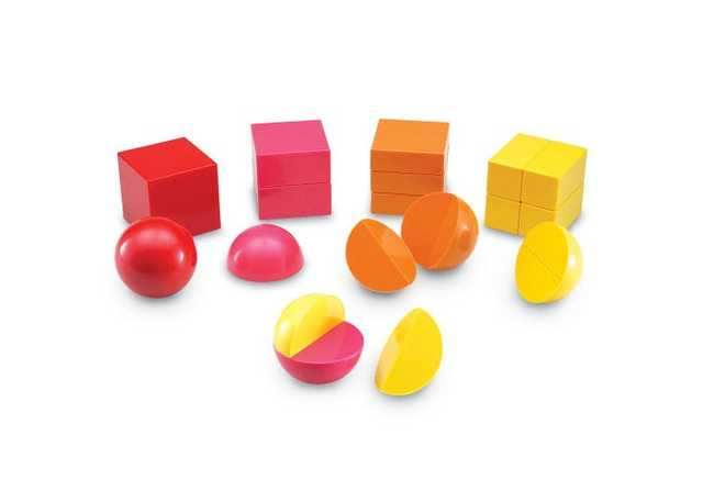 Magnetic 3-D Rainbow Fraction' Shapes