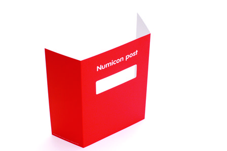 Numicon Post Box